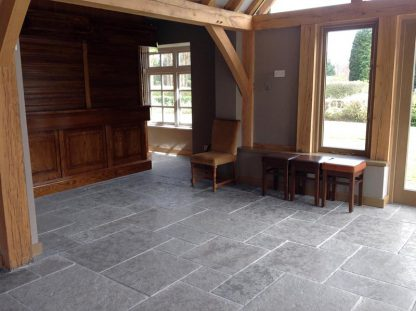 Grey Flagstone Flooring